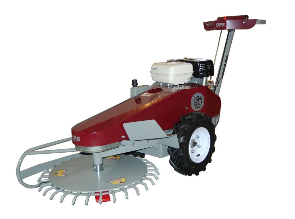 929 Revolving Deck Brush Mower