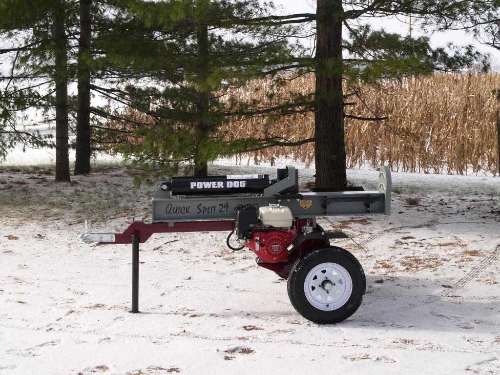 Power Dog MADE IN USA log splitter