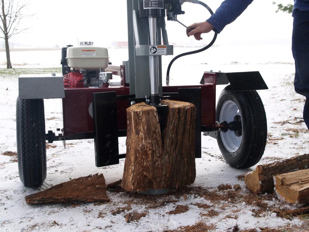 Vertical Log Splitter